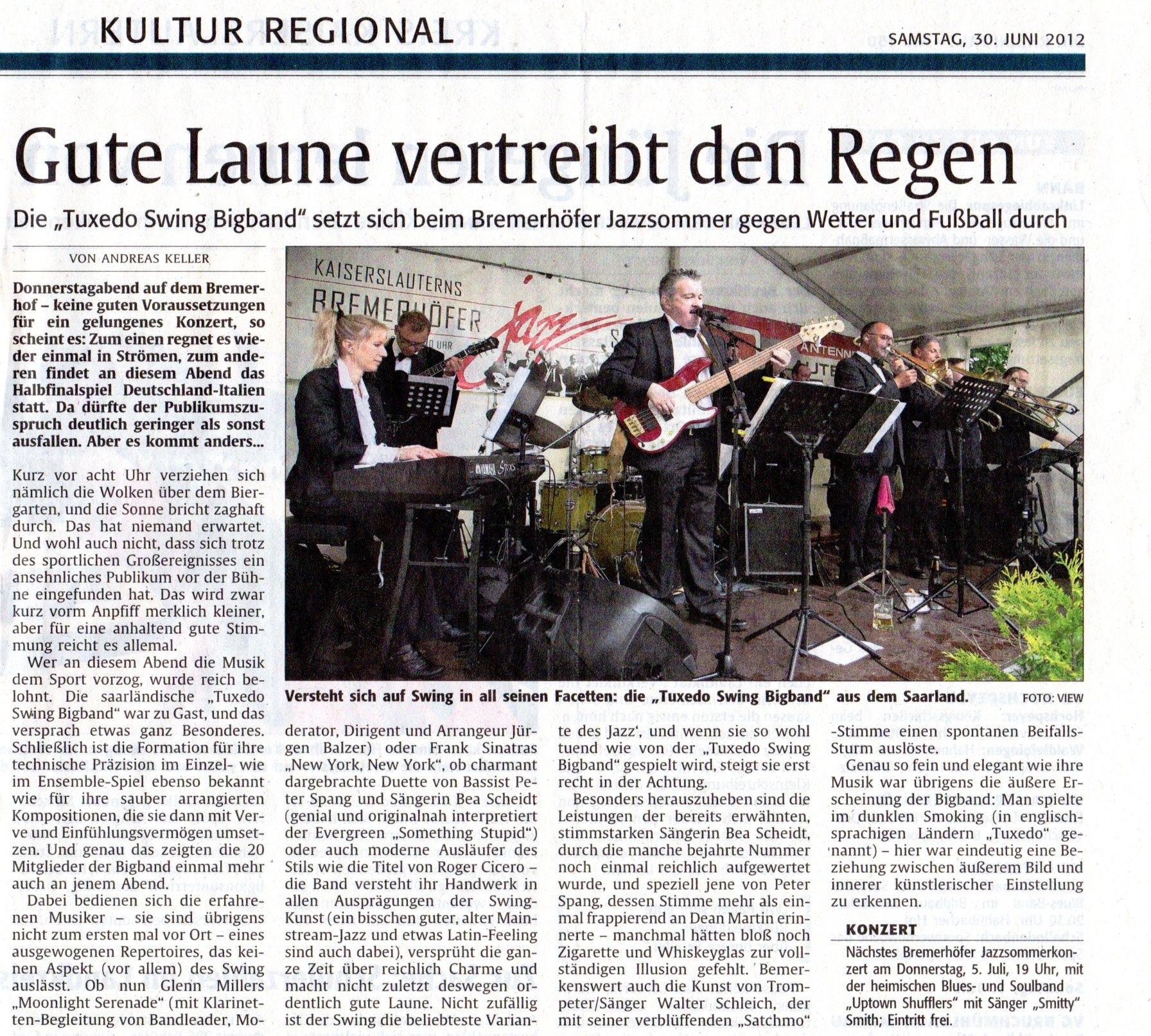 Bericht KL Bremerhof 2012