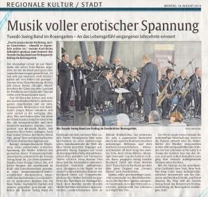 Bericht 'Die Rheinpfalz' 18.08.2014